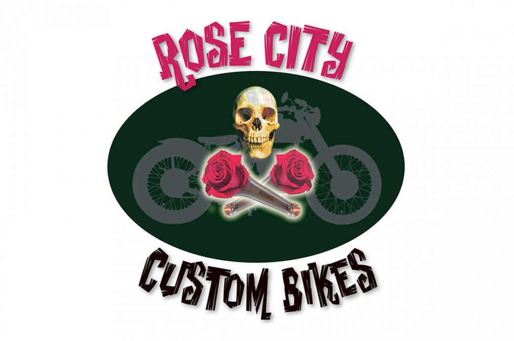 rose city custom bikes logo