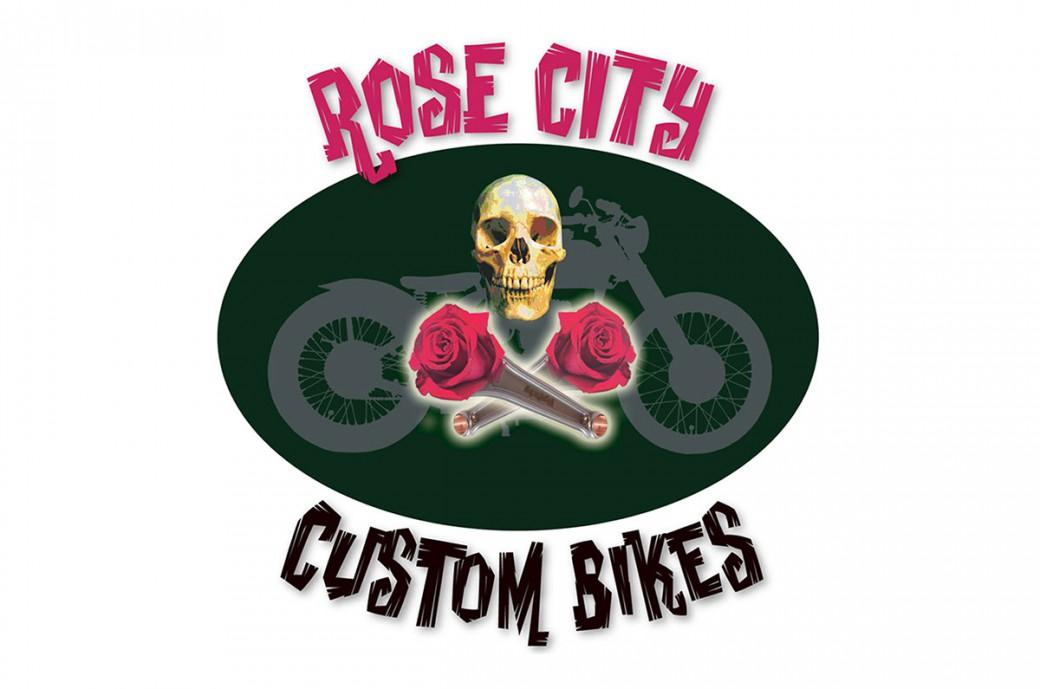 rose city custom bikes logo