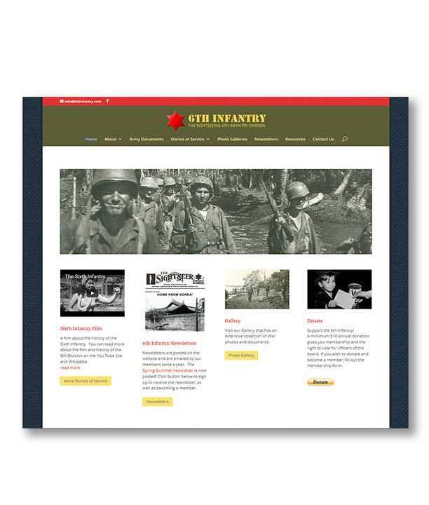 6th Infantry Website