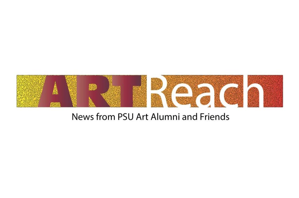 Portland State University Art Alumni Committee Artreach logo final design